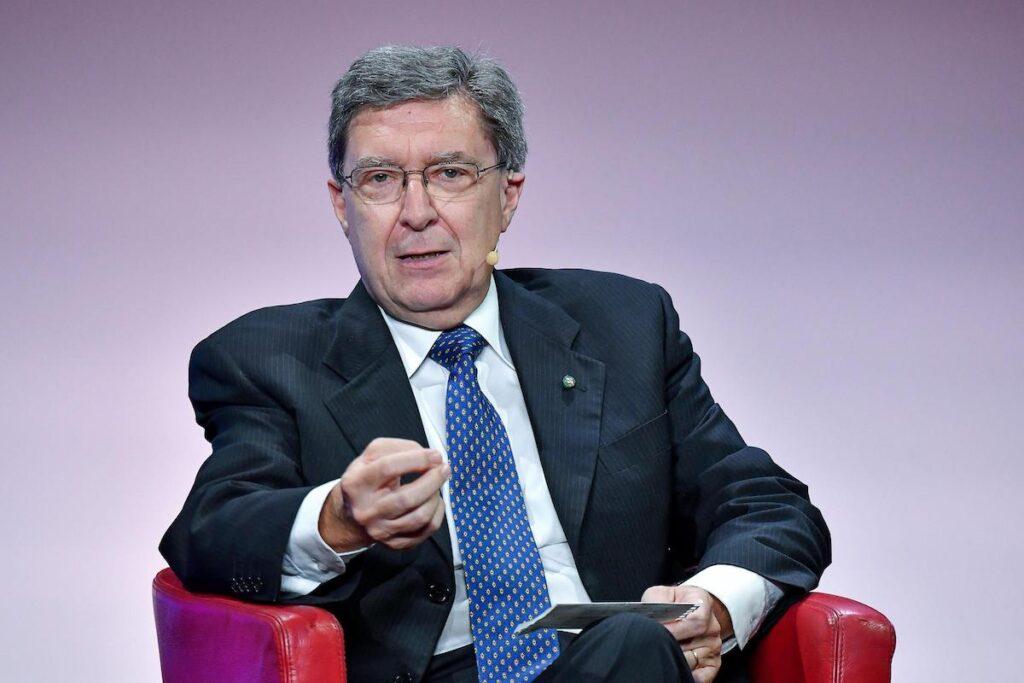 Enrico Giovannini, portavoce Alleanza italiana per lo sviluppo sostenibile, durante l'evento Diplomazia per l'Italia sicurezza e crescita in Europa e nel mondo, Roma 24 luglio 2019.  ANSA/ALESSANDRO DI MEO
