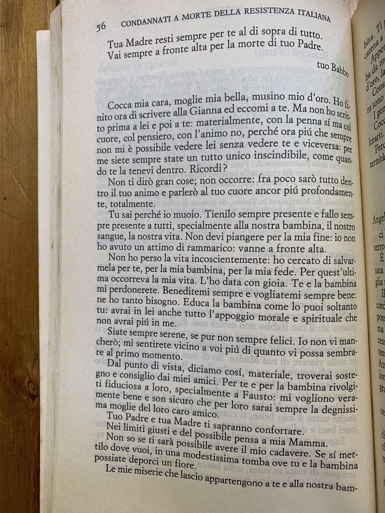 Lettere di condannati a morte della Resistenza italiana